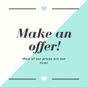 We Accept Offers!